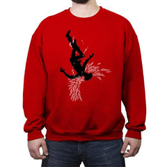 Fallen Angel - Crew Neck Sweatshirt - Crew Neck Sweatshirt - RIPT Apparel