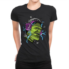 Electric Vibe - Womens Premium - T-Shirts - RIPT Apparel