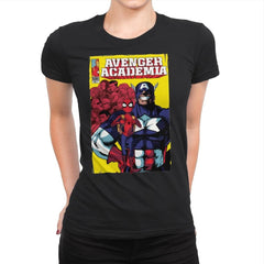 Avenger Academia - Anytime - Womens Premium - T-Shirts - RIPT Apparel