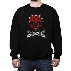 Maul and Cross Sabers - Crew Neck Sweatshirt - Crew Neck Sweatshirt - RIPT Apparel