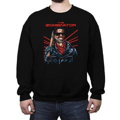 The Zombinator - Crew Neck Sweatshirt - Crew Neck Sweatshirt - RIPT Apparel