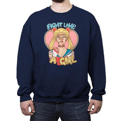 Fight Like A Sailor - Crew Neck Sweatshirt - Crew Neck Sweatshirt - RIPT Apparel