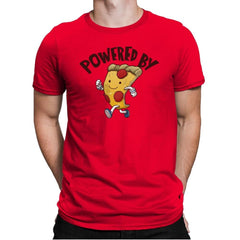 Powered By Pizza - Mens Premium - T-Shirts - RIPT Apparel