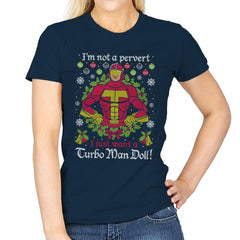 Not A Pervert - Ugly Holiday - Womens - T-Shirts - RIPT Apparel