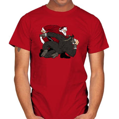 Santa vs Krampus - Mens - T-Shirts - RIPT Apparel
