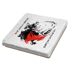 A Brush with the Force - Coasters - Coasters - RIPT Apparel