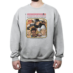 Cowboys & Robots Choose Your Own - Crew Neck Sweatshirt - Crew Neck Sweatshirt - RIPT Apparel