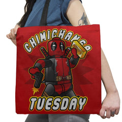Chimichanga Tuesday Exclusive - Tote Bag - Tote Bag - RIPT Apparel