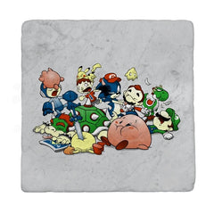 Smash Brawl - Miniature Mayhem - Coasters - Coasters - RIPT Apparel