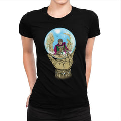 Mysterio Escher - Womens Premium - T-Shirts - RIPT Apparel