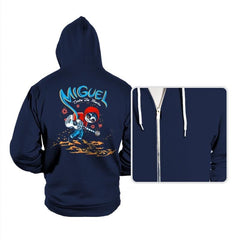 Miguel VS The Dead - Hoodies - Hoodies - RIPT Apparel