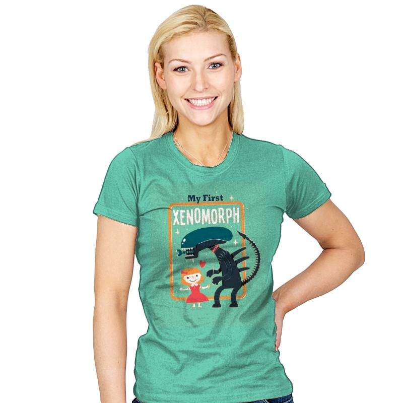 My First Xenomorph - Womens - T-Shirts - RIPT Apparel