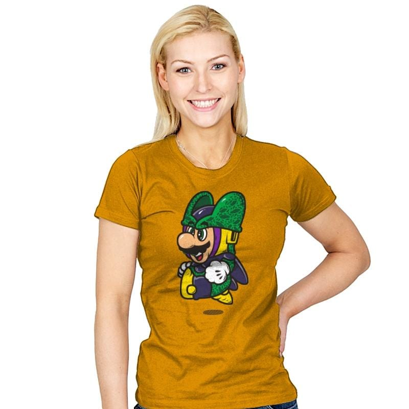 Super Jump Cell - Womens - T-Shirts - RIPT Apparel
