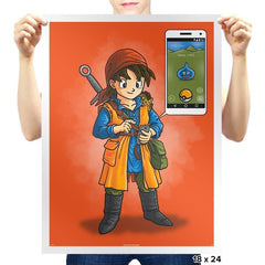 Dragon Quest Go - Pop Impressionism - Prints - Posters - RIPT Apparel
