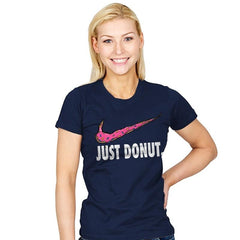 Just Donut. - Womens - T-Shirts - RIPT Apparel