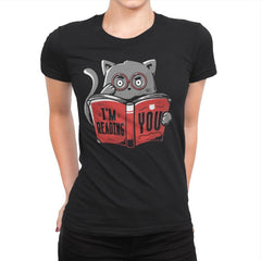 I'm Reading You - Womens Premium - T-Shirts - RIPT Apparel
