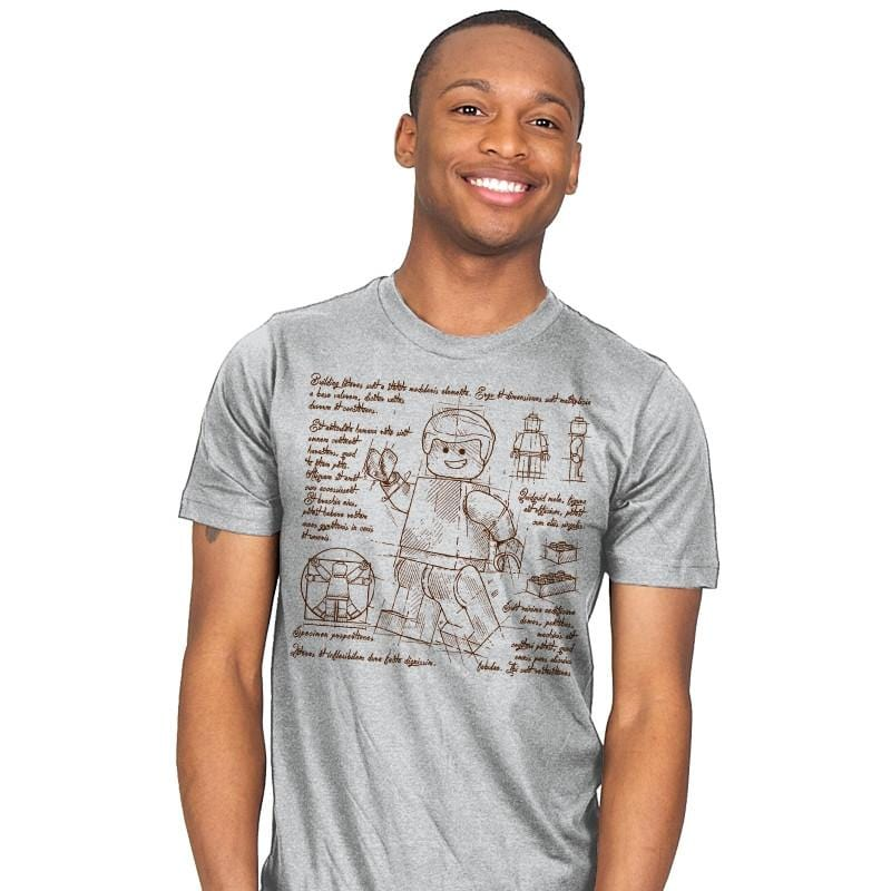 Minifigure Plan Exclusive - Brick Tees - Mens - T-Shirts - RIPT Apparel