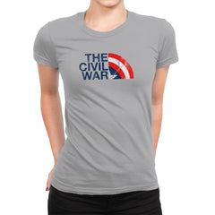 The Civil War Exclusive - Womens Premium - T-Shirts - RIPT Apparel