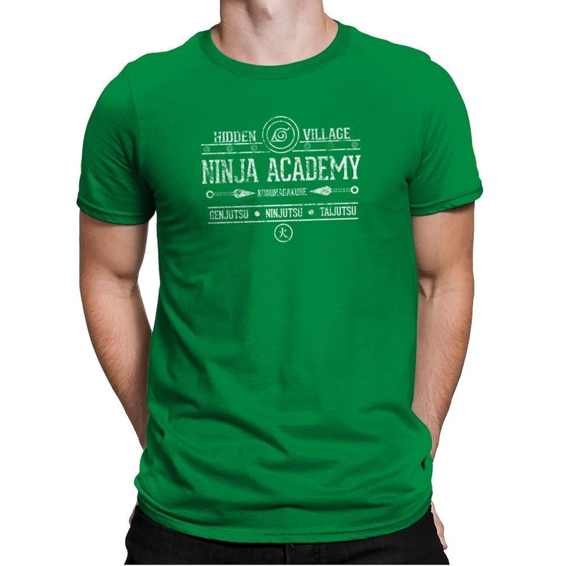 Ninja Academy Exclusive - Anime History Lesson - Mens Premium - T-Shirts - RIPT Apparel