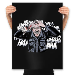 The Ash Laugh - Prints - Posters - RIPT Apparel