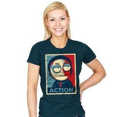 Now Is The Time For Action! - Womens - T-Shirts - RIPT Apparel