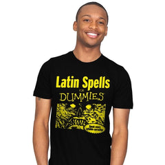 Latin Spells for Dummies - Mens - T-Shirts - RIPT Apparel