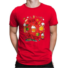 Beer is Chemistry - Mens Premium - T-Shirts - RIPT Apparel