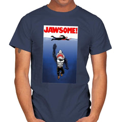 Jawsome Dude - Mens - T-Shirts - RIPT Apparel