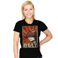 Obey The Hypnotoad! - Best Seller - Womens - T-Shirts - RIPT Apparel