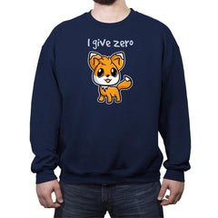 Zero Fox Given - Crew Neck Sweatshirt - Crew Neck Sweatshirt - RIPT Apparel