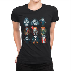 Nerdy Halloween - Womens Premium - T-Shirts - RIPT Apparel