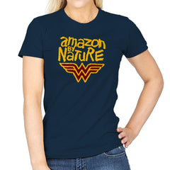 Amazon By Nature Exclusive - Wonderful Justice - Womens - T-Shirts - RIPT Apparel