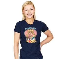 Fight Like A Sailor - Womens - T-Shirts - RIPT Apparel
