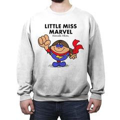 Little Miss Marvel - Crew Neck Sweatshirt - Crew Neck Sweatshirt - RIPT Apparel