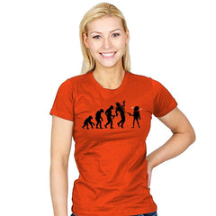 Evolution Hack - Womens - T-Shirts - RIPT Apparel
