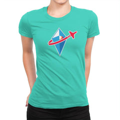 No Brick Sky Exclusive - Womens Premium - T-Shirts - RIPT Apparel