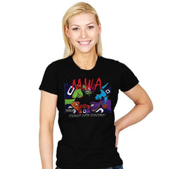 Straight Outta Toontown - Womens - T-Shirts - RIPT Apparel