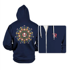 One Up Mandala - Hoodies - Hoodies - RIPT Apparel
