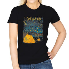 Take Your Time - Womens - T-Shirts - RIPT Apparel