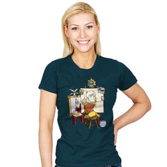 Me, Myself, and Aang - Womens - T-Shirts - RIPT Apparel