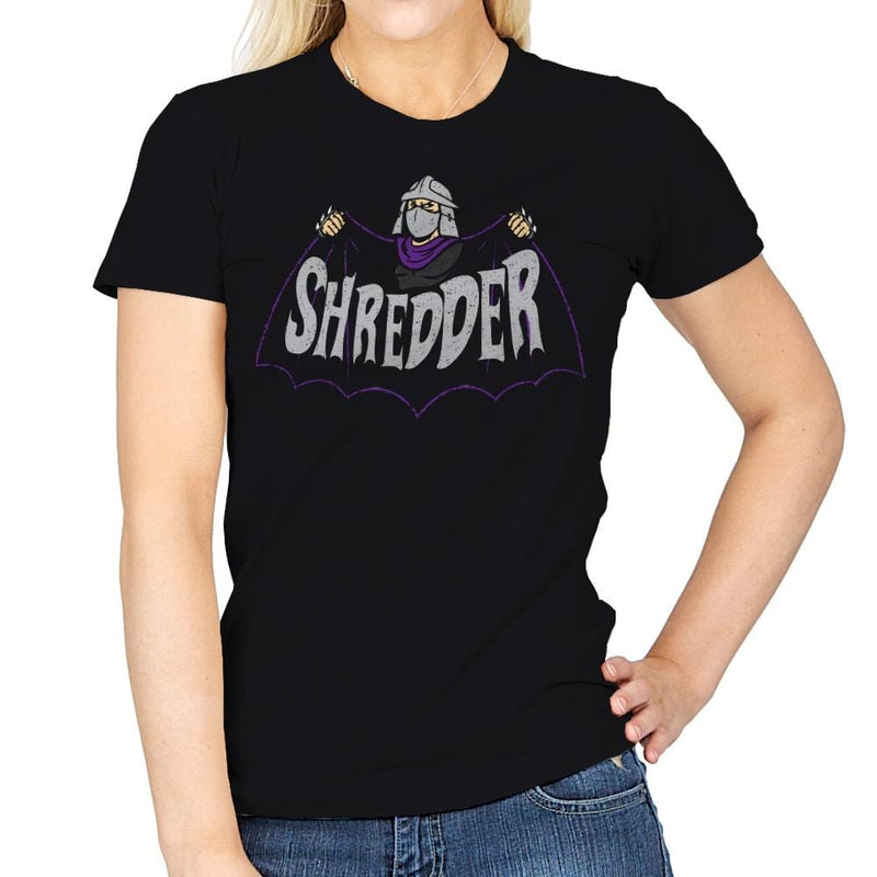 Shred-Man - Womens - T-Shirts - RIPT Apparel