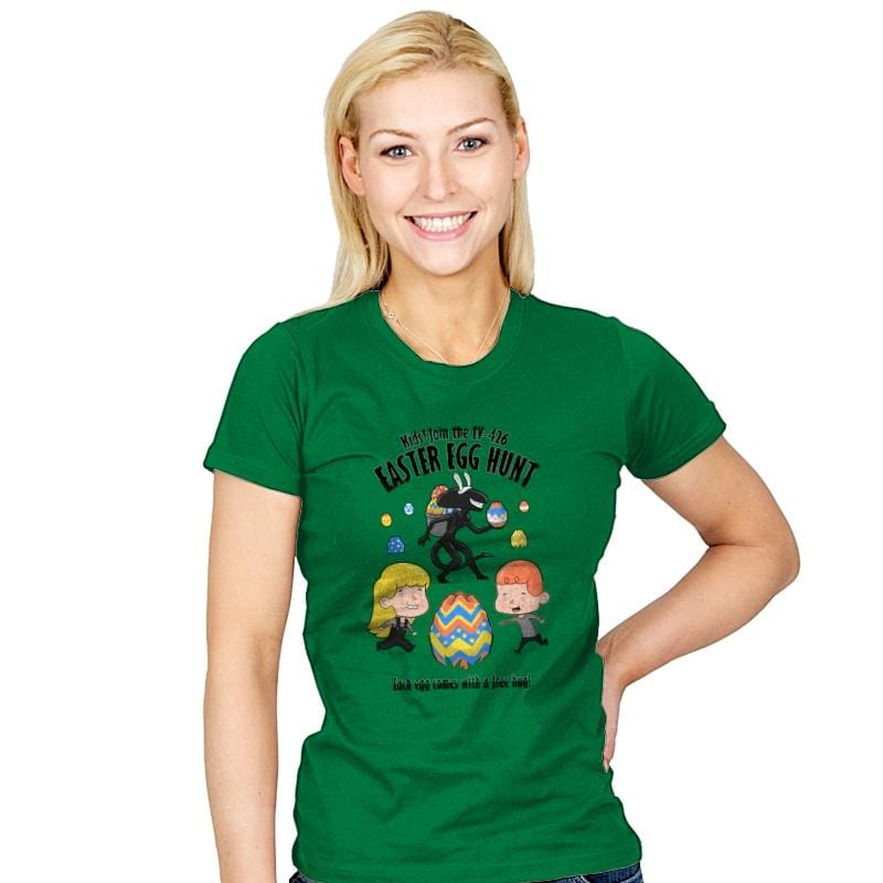 A Xenomorph Easter Special - Womens - T-Shirts - RIPT Apparel