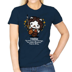 Hello Inigo B - Womens - T-Shirts - RIPT Apparel