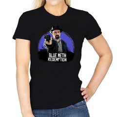 Blue Meth Redemption - Womens - T-Shirts - RIPT Apparel