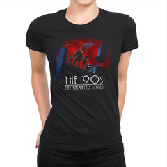The Animated 90s - Womens Premium - T-Shirts - RIPT Apparel
