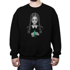 Death Bores Me - Crew Neck Sweatshirt - Crew Neck Sweatshirt - RIPT Apparel