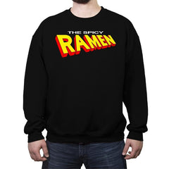 The Spicy Ramen - Crew Neck Sweatshirt - Crew Neck Sweatshirt - RIPT Apparel