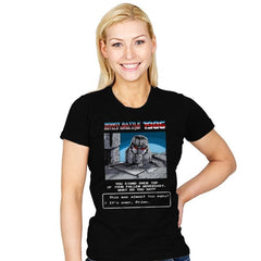 Robot Battle Royale Simulator 1986 Exclusive - Womens - T-Shirts - RIPT Apparel
