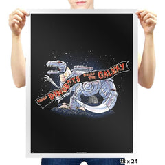 Jurassic Spark Exclusive - Prints - Posters - RIPT Apparel