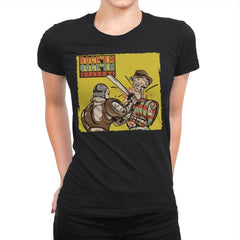 Rock'em Sock'em Killers - Womens Premium - T-Shirts - RIPT Apparel